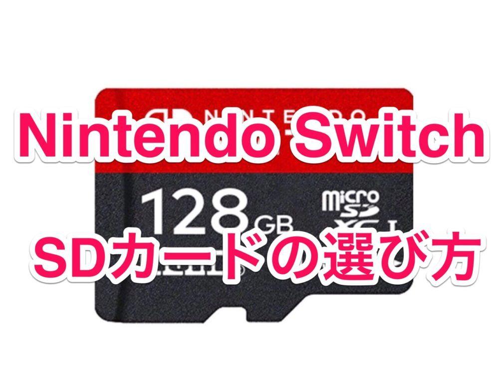 Nintendo Switch microsd
