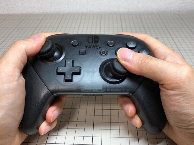 Switch Proコントローラ用 FPSスティック 狙
